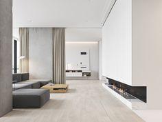 Op zoek naar een fijn minimalistisch interieur? Dan moet je zeker even een kijkje nemen in dit ruime lichte appartement in Montenegro!