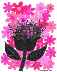 """Flor Insensata"" by Claudia Chacón"
