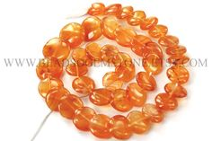 Gemstone Beads, Carnelian Smooth Disc (Quality A+) / to 14 mm / 36 cm / by beadsogemstone on Etsy Semi Precious Beads, Carnelian, Gemstone Beads, Craft Supplies, Smooth, Shapes, Gemstones, Etsy, Jewelry