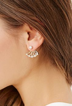 $30 Rhinestone Ear Jacket |  - 1000167807