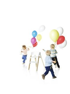 Life's a party with Stokke!  Stokke Steps Chair in Natural