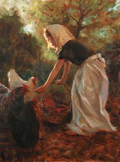~ Trent Gudmundsen: Feeding the Chickens