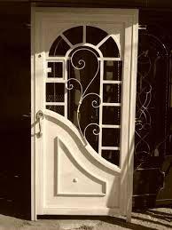 Security door sunray handmade homes pinterest spring for Puertas galvanizadas