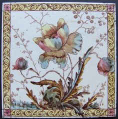 West Side Art Tiles -4488n309p0 - English Tile>