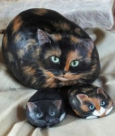 Yvette Biedermann painted rocks