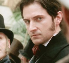 "Richard Armitage as John Thornton in ""North and South"" (BBC, Elizabeth Gaskell, Hobbit, Richard Armitage, North And South, John Thornton, Look Back At Me, Mr Darcy, Romance, Film Serie"