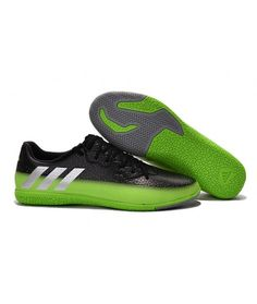 purchase cheap 5366f 2e753 Adidas Messi 16.3 IC Zapatillas Futbol Sala Botas De Fútbol Negro Verde Gray
