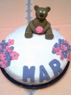 Mi tarta de cumpleaños #fondant