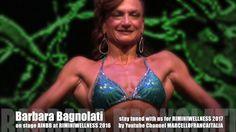 BARBARA BAGNOLATI on stage AINBB MUSCLEMANIA at RIMINI WELLNESS 2016
