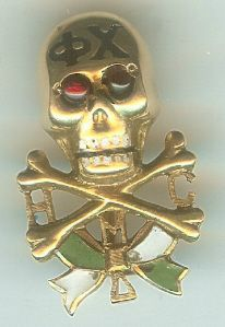 Phi Chi medical fraternity badge from 1906