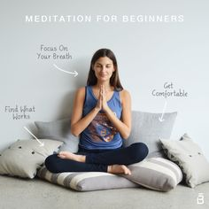 Meditation can help you concentrate, reduces anxiety, and even amps up your immune system. If you've been thinking about adding meditation to your daily routine, we've got five simple tips to help you get started. Check it: http://blog.barre3.com/2014/10/29/meditation-beginners/