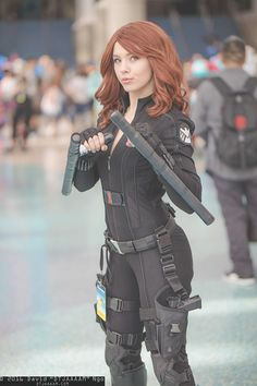 Black Widow (Avengers) #MARVEL by KeelyCosplay | Event: LA Comic Con 2016, Photography: DTJAAAAM