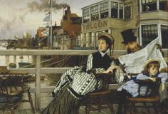 The Art of Waiting, by James Tissot | The Hammock