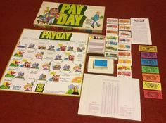 Game Adults Kids Payday 1975 by Parker Brothers Family Board Game 32 Nice | eBay
