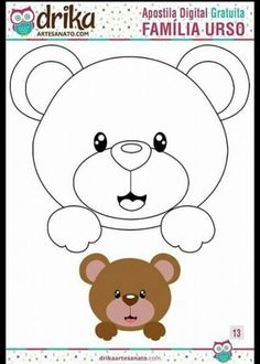 49 Ideas For Sewing Crafts Animals Baby Quilts Felt Patterns, Applique Patterns, Applique Quilts, Felt Animals, Baby Animals, Moldes Para Baby Shower, Sewing Crafts, Sewing Projects, Baby Shawer