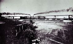 The crash was organized by George Crush an employee of the Missouri, Kansas and Texas, better-known as the Katy Railroad. During an economic...