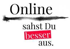 Online sahst Du besser aus | Humor | Echte Postkarten online versenden…