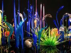 glass garden of Chihuly