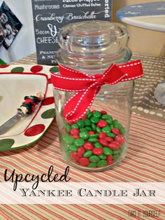 How to Empty the Wax and Re-Use Yankee Candle Jars :: Hometalk I going to try the freezer method.