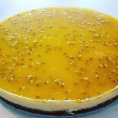 Passievruchten taart gemaakt door Zoet! #Passie #Passievruchten #Taart #Zoet #Theehuis #Tearoom #Lunchroom #Zeist