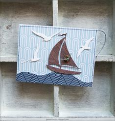 Nautical Cards, Beach Huts, We R Memory Keepers, Am Meer, Cardmaking, Paper Art, Stampin Up, Kit, Spring