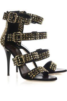 guiseppe zanotti crystal studded heels...swoon