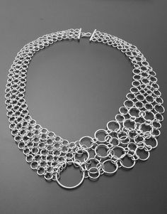 Bib Necklace...love the bubble look!