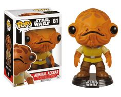 Buy Star Wars The Force Awakens Admiral Ackbar Funko Pop! Vinyl Bobblehead from Pop In A Box UK, the home of Funko Pop Vinyl subscriptions and more. Star Wars Meme, Star Wars Vii, Star Wars Quotes, Star Trek, Admiral Ackbar, Pop Vinyl Figures, Star Wars Characters, Star Wars Episodes, Star Wars