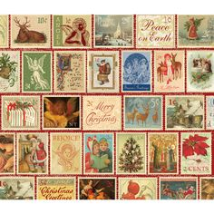 Christmas Stamps 550 Piece Jigsaw Puzzle