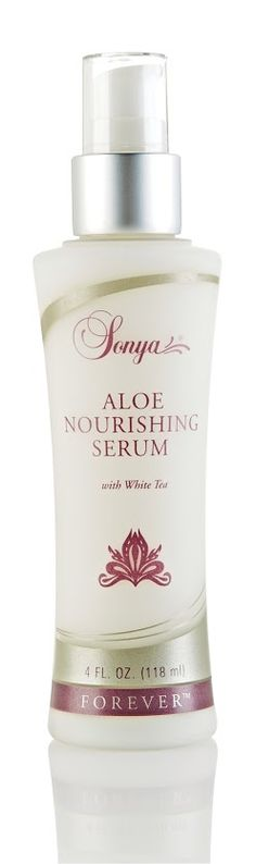 Sonya Aloe Nourishing Serum - Lightweight serum that preserves and replenishes your skin's moisture to help maintain a youthful complexion. Contains aloe, white tea and mimosa bark extracts. #sonya #foreverliving #cosmetics #skincare http://forever-forward.flp.com/