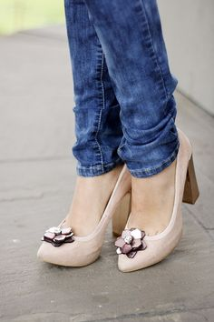 #Shoes #SoftPink #Fashion  #Nude #Demin #Wash