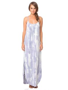 Freya Bamboo Scoop Back Spaghetti Strap U-Maxi Dress
