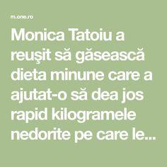 """Monica Tatoiu a slăbit cu dieta balerinei. """"Slăbeşti un kilogram pe zi"""" Math Equations"""