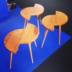 Des tables basses déstructurées