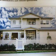Fence top mimics verandah railing Veranda Railing, Fence, Garage Doors, Outdoor Decor, Top, Home Decor, Decoration Home, Room Decor, Home Interior Design