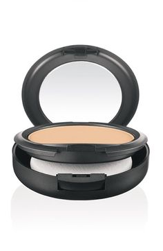 Studio fix powder, my everyday powder from MAC It has quite a lot of coverage, so you can actually use this alone with concealer if you want to, but you can easily use a normal foundation under it too. I use it with the Select Cover Up concealer from MAC and the Prep and Prime BB-cream from MAC too! I absolutely love this powder, and I can seriously suggest this to ALL of you! :)