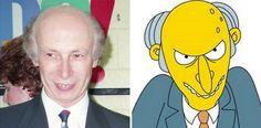 Parecidos razonables: señor Burns