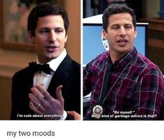 Brooklyn Nine Nine Brooklyn Nine Nine Funny, Brooklyn 9 9, Jake And Amy, Funny Pictures Tumblr, Jake Peralta, Andy Samberg, Rookie Blue, Thing 1, Bodo