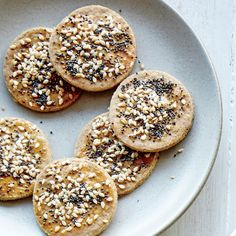 Everything Amaranth Crackers The popular everything bagel topping makes delicious savory flavoring for these whole-grain bites. Toasting the amaranth flour removes some of its bitterness and strong…