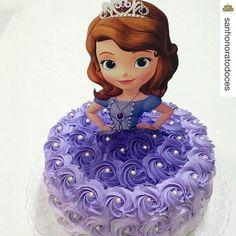 Resultado de imagen para tarta princesa sofia