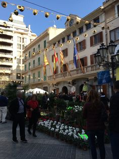 Dijous Bo – Herbstmarkt in Inca Aragon, Street View, Majorca, Autumn