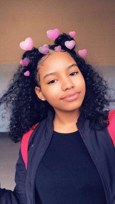 ✨Pinterest✨: @baddiebecky21| Bex ♎️ | Baddie Hairstyles, Black Girls Hairstyles, Pretty Hairstyles, Curly Hair Styles, Natural Hair Styles, Natural Curly Hair, Light Skin Girls, Curly Girl, Hair Hacks