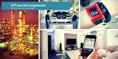 IoT market segments cover