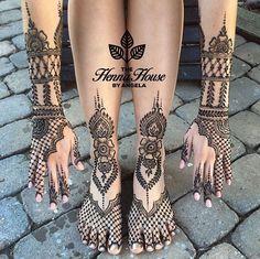 @hennabyang Mehndi Henna Bridal mehndi