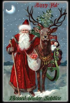 Happy Yule and blessing to all of you