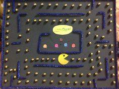 100 days of school project (PAC-man)