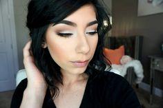 Simple Everyday Makeup Look   Kat Von D Shade & light Eye Palette