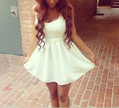 Sweetheart Hollow Dress