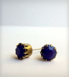 Something Blue Stud Earrings | Women's Jewelry | Phul Effect Jewelry | Scoutmob Shoppe | Product Detail