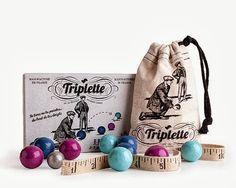 #gry Triplette, gra w bule, Les Jouets Libres - PomocnicyMamy.pl, cena 69
